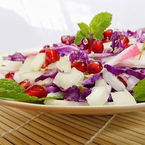 Salada de Hortelã com Kani