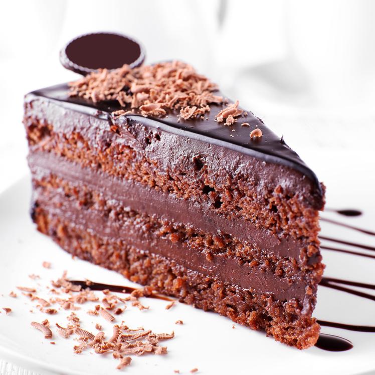 Bolo de Chocolate Recheado com Mousse de Chocolate