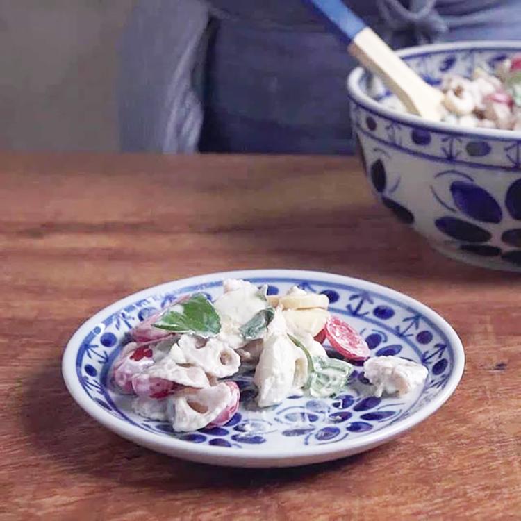 Salada de Macarrão Integral com Iogurte