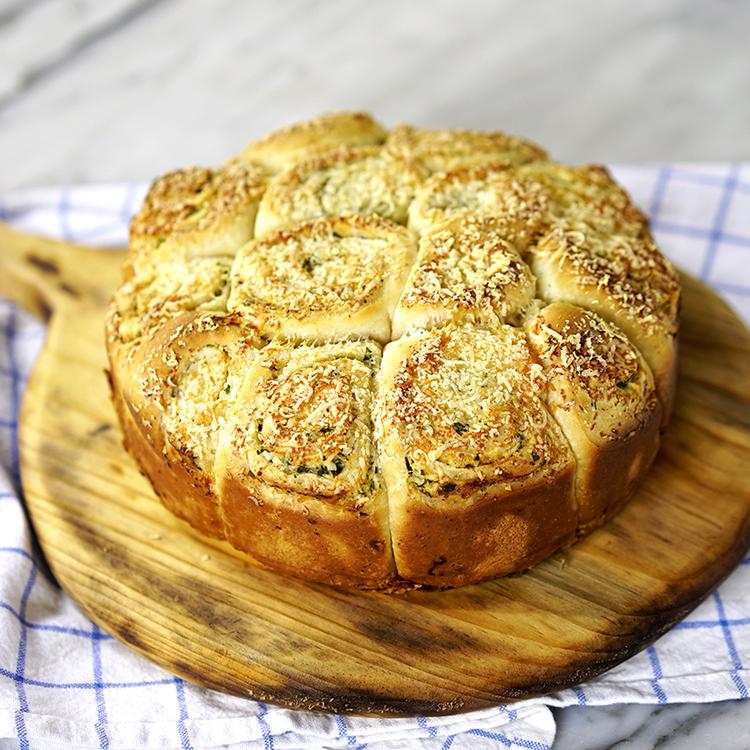Pão de alho Rolls