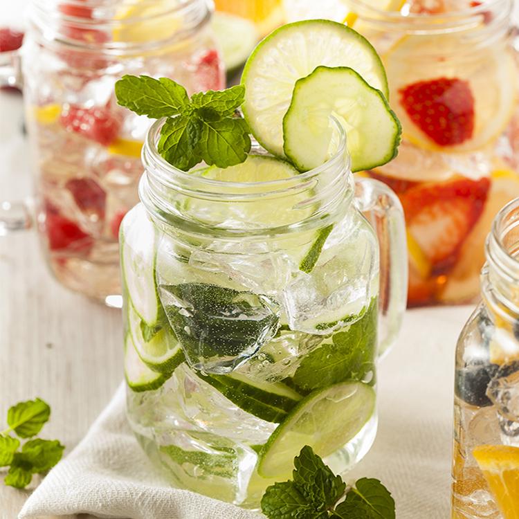 Água Detox Termogênica