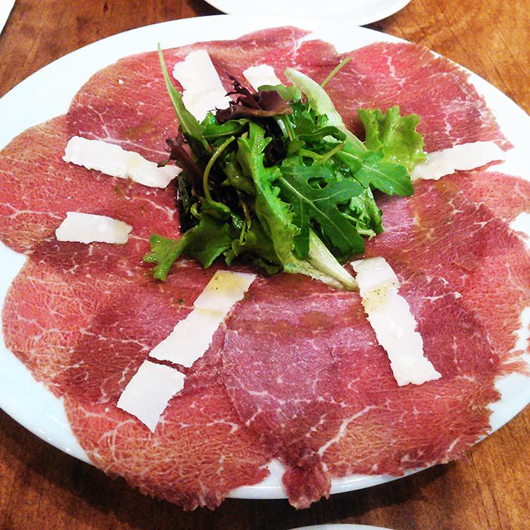 Carpaccio de carne
