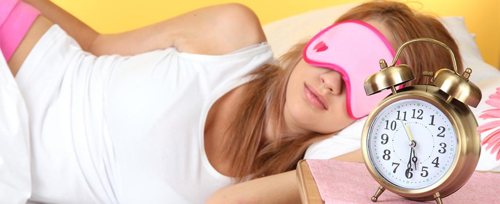 Cuidando do rosto enquanto dorme