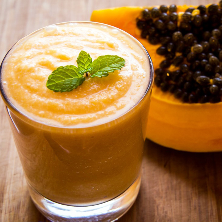 Smoothie de papaia