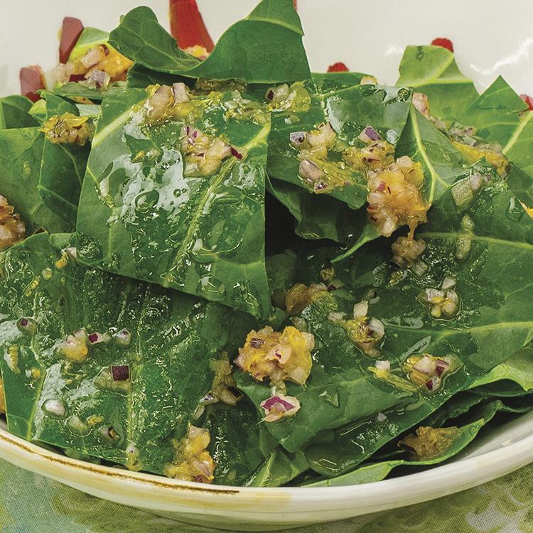 Salada de Couve Crua