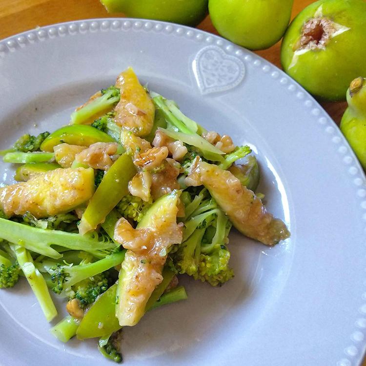 Salada de Brócolis com Figo